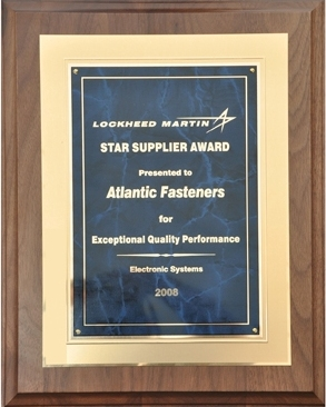 Lockheed STAR plaque